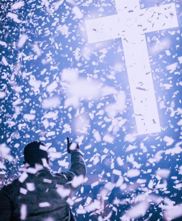 blast tissue confetti for faith conferences